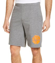 ax armani exchange men's fleece logo shorts