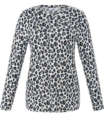 shirt met luipaardprint van emilia lay multicolour