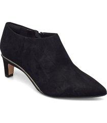 ellis viola shoes boots ankle boots ankle boot - heel svart clarks