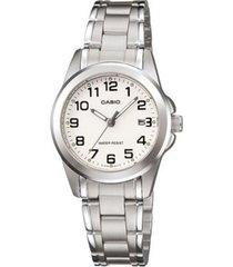 reloj análogo casio ltp-1215a-7a-gris