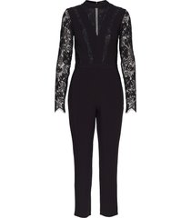 rikky overall jumpsuit zwart guess jeans