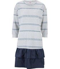 abito in felpa 2 in 1 (bianco) - john baner jeanswear