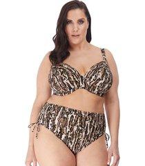fierce underwire plunge bikini top
