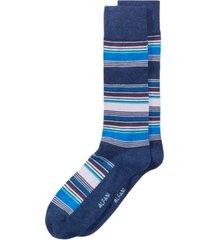 alfani men's striped dress socks, created for macy's