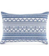 "tommy hilfiger poucha pond 12"" x 18"" decorative pillow bedding"