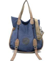 bolso azul buda