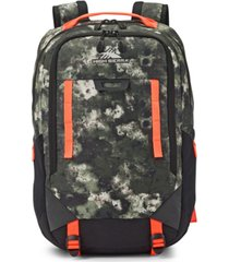 high sierra camo litmus backpack