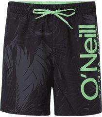 o'neill heren zwembroek califloral - zwart/groen