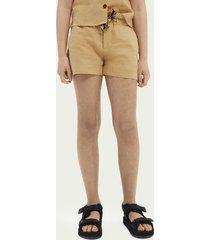 scotch & soda linen shorts ─ sand