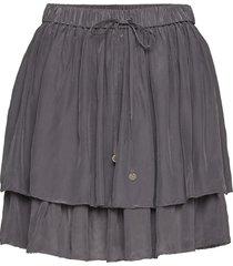 i-escape skirt kort kjol grå odd molly