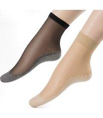 donna calze in velluto cotone in bottom respirabili antiscivolate con massaggi a piedi