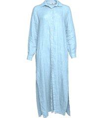 tiffany tiffany skjortklänning ljusblå, 181031