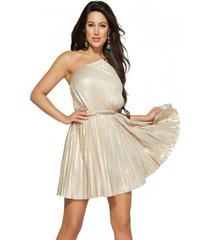 vestido g marciano night out knit dress dorado guess