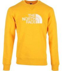 sweater the north face drew peak crew