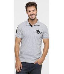 camisa polo rg 518 piquet básica masculina