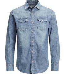 jack & jones overhemd 12138115 jjesheridan blauw