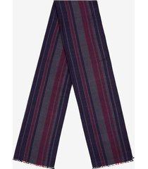 striped scarf blue 1