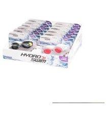 display bestway com 12 óculos de natação para adultos com lentes coloridas e revestimento de proteção uv .
