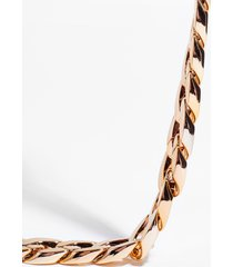 womens chain-ge my mind chunky chain necklace - gold