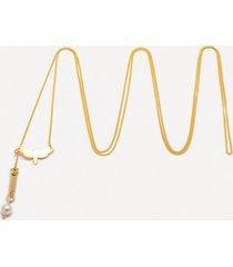 naszyjnik be natural złocony regulowany