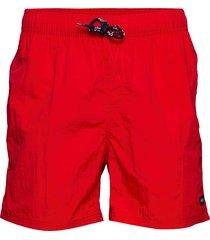 leisure swim shorts badshorts röd h2o