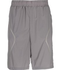 a-cold-wall shorts in grey nylon