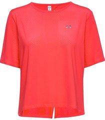 armour sport ss t-shirts & tops short-sleeved röd under armour
