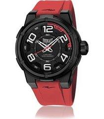 relógio everlast esporte 48mm silicone masculino