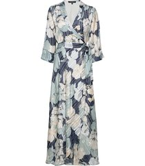 dress maxi dress galajurk multi/patroon ilse jacobsen