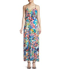goldee floral maxi dress
