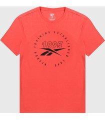 camiseta coral-negro reebok speedwick