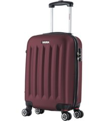 "inusa philadelphia 19"" lightweight hardside spinner carry-on luggage"