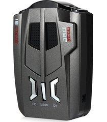 radar detector voz alerta 360 grados/16 banda - negro