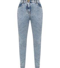 -logo geappliqueerd jeans