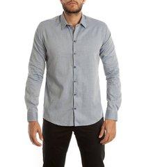 camisa frank pierce productivo c2006 - gris