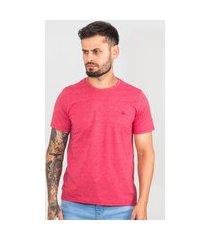camiseta masculina básica lisa com borda