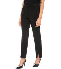 pantalón calvin klein list negro - calce ajustado