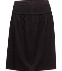 pure plus skirt knälång kjol svart wolford
