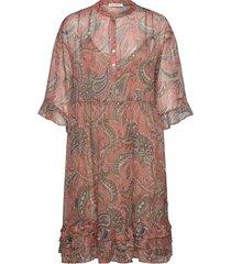 dress knälång klänning rosa sofie schnoor