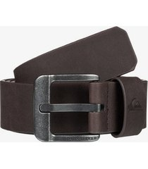main street faux leather belt