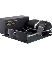 gafas lentes sol hdcrafter 8712 hombres polarizados gris