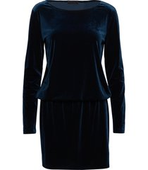 2nd shelly kort klänning blå 2ndday