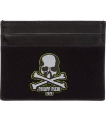 philipp plein skull credit card holder