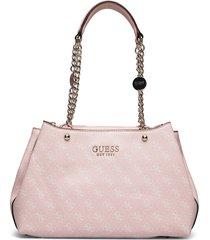 lorenna girlfriend satchel bags top handle bags rosa guess