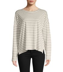 bengal striped long-sleeve t-shirt