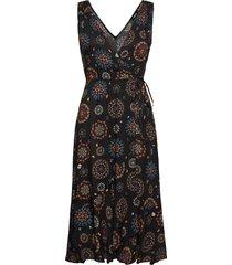 vest santorini dresses wrap dresses svart desigual