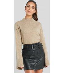 mango helen skirt - black