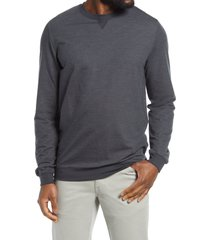 men's travismathew carlin pullover, size large - black