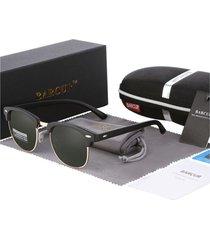 gafas lentes sol mujer ovaladas uv400 barcur 3016 gris