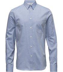 m. pierre light oxford shirt overhemd business blauw filippa k